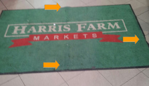 Harris Farms Logo Mat