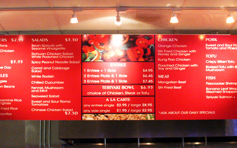 Menu Exhibition Tiles